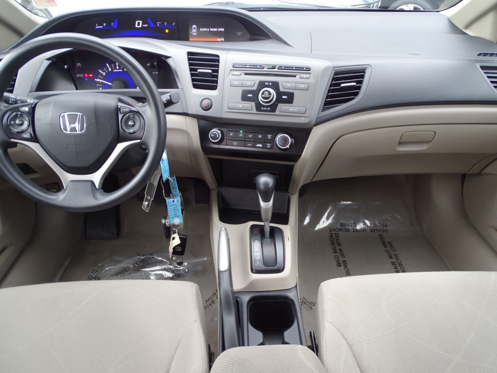Pre-Owned 2012 Honda Civic LX Sedan