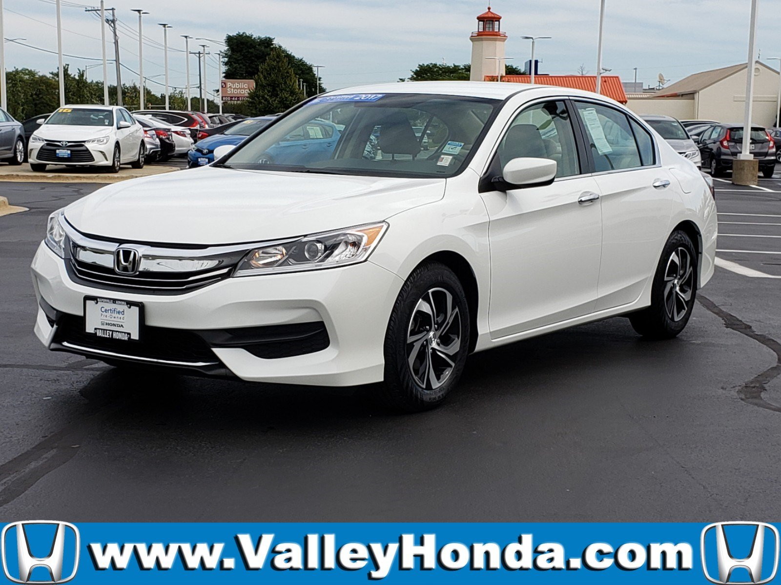 Certified Pre-Owned 2017 Honda Accord LX Sedan