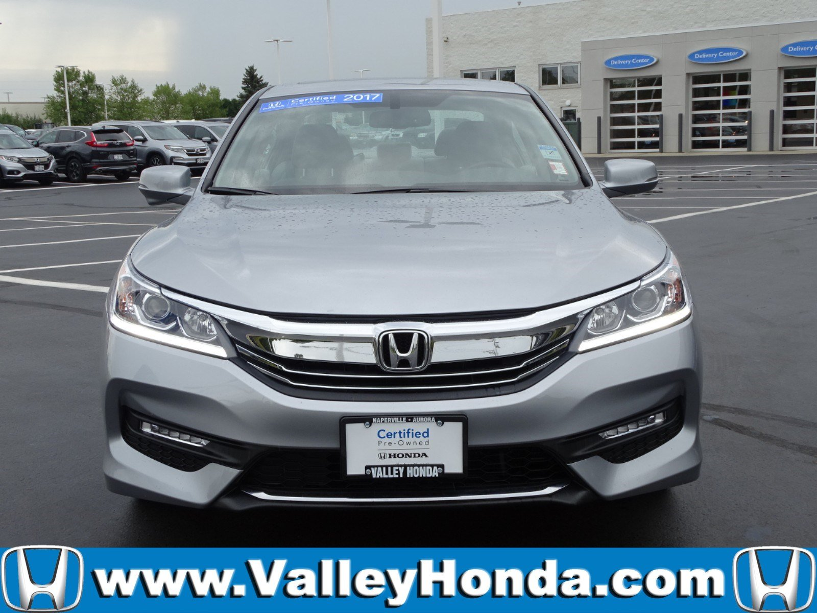Certified Pre-Owned 2017 Honda Accord EX-L V6 Sedan