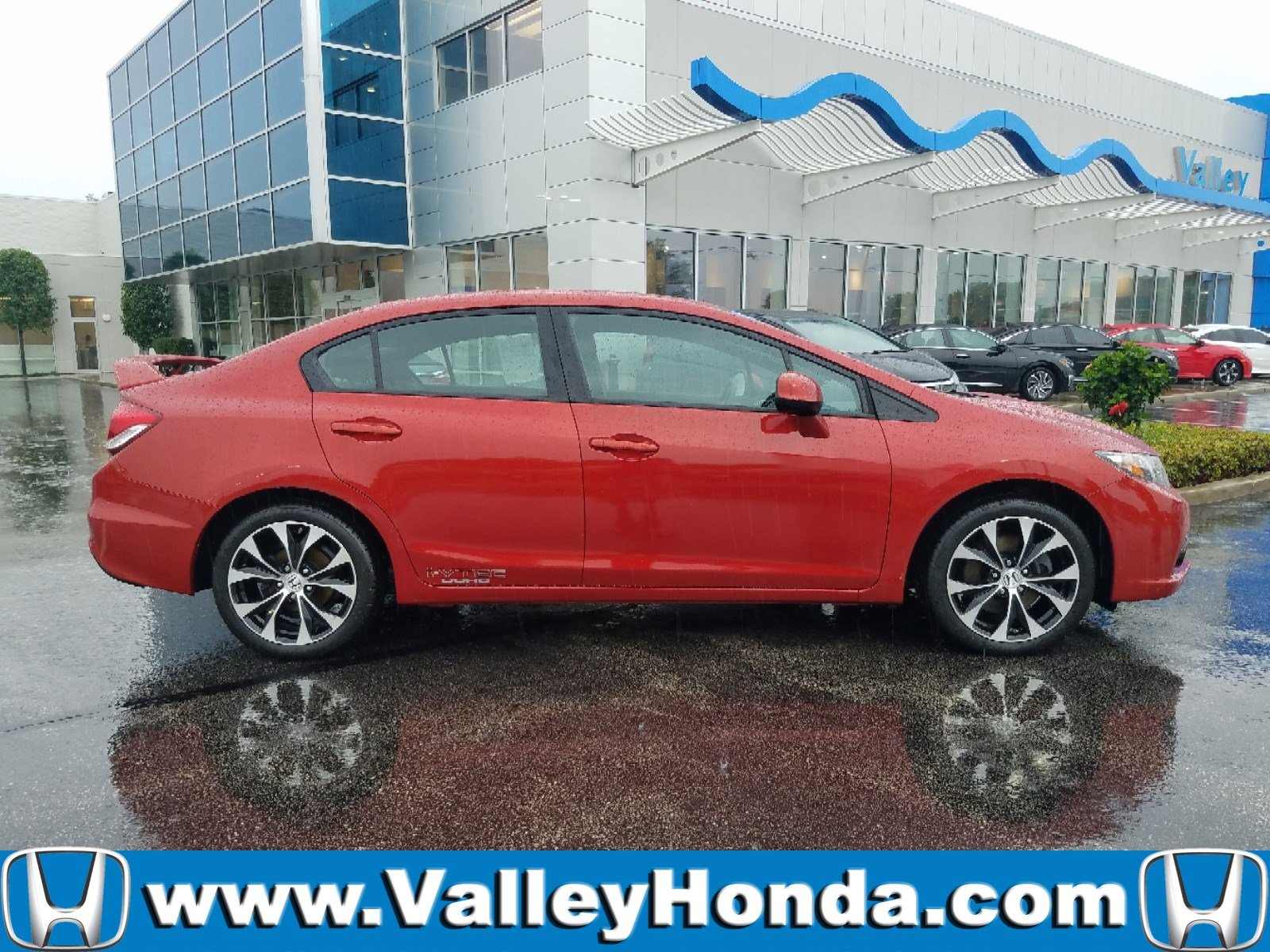 Certified Pre Owned 2013 Honda Civic Sedan SI