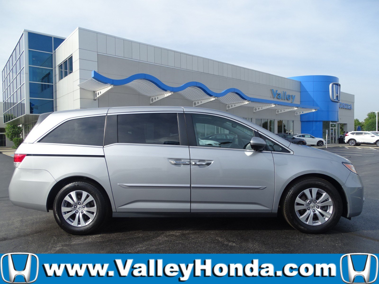 Certified Pre Owned 2017 Honda Odyssey Ex L W Dvd Mini Van Penger In Aurora 64974a Valley