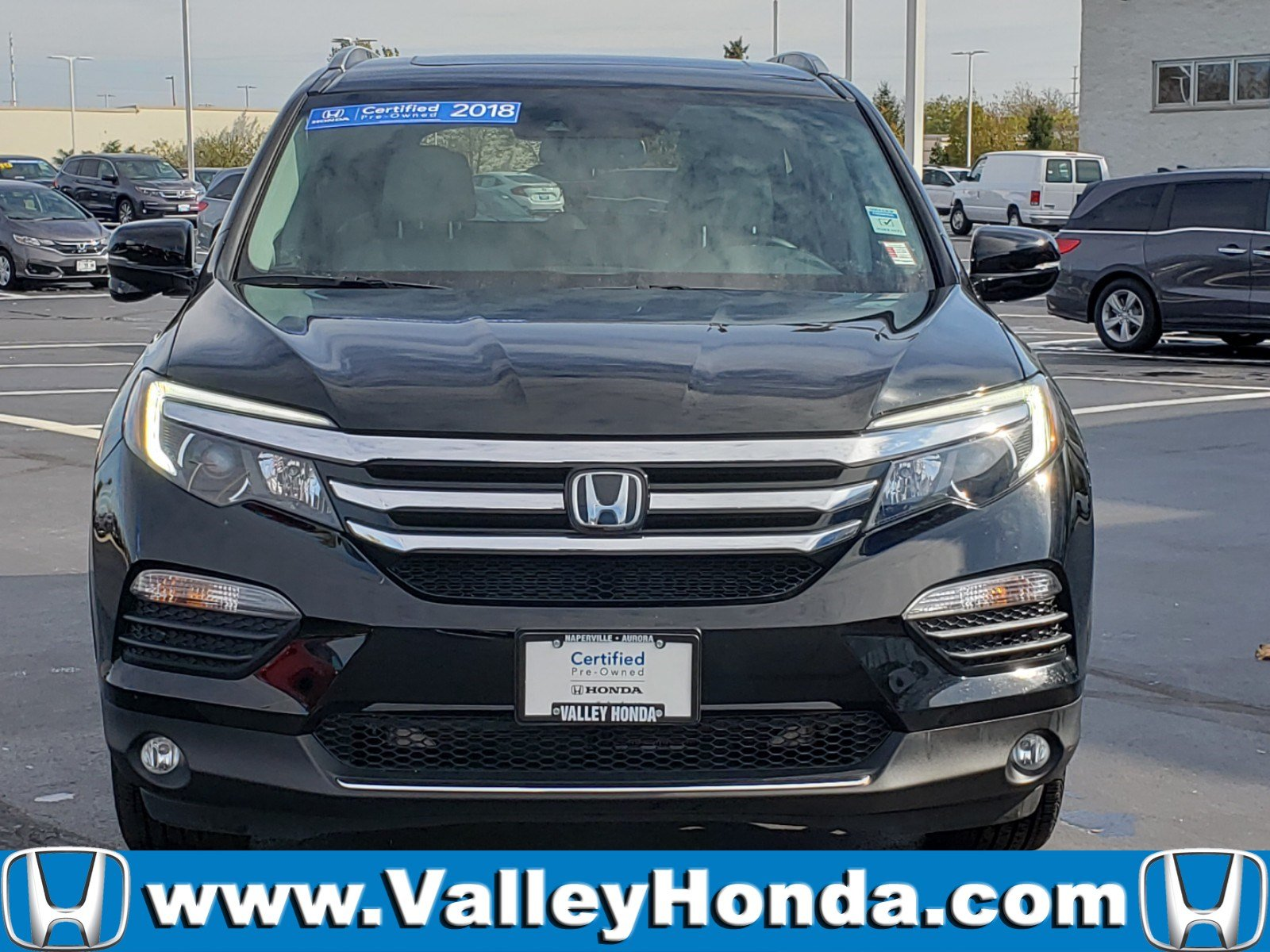 Certified Pre-Owned 2018 Honda Pilot Touring AWD