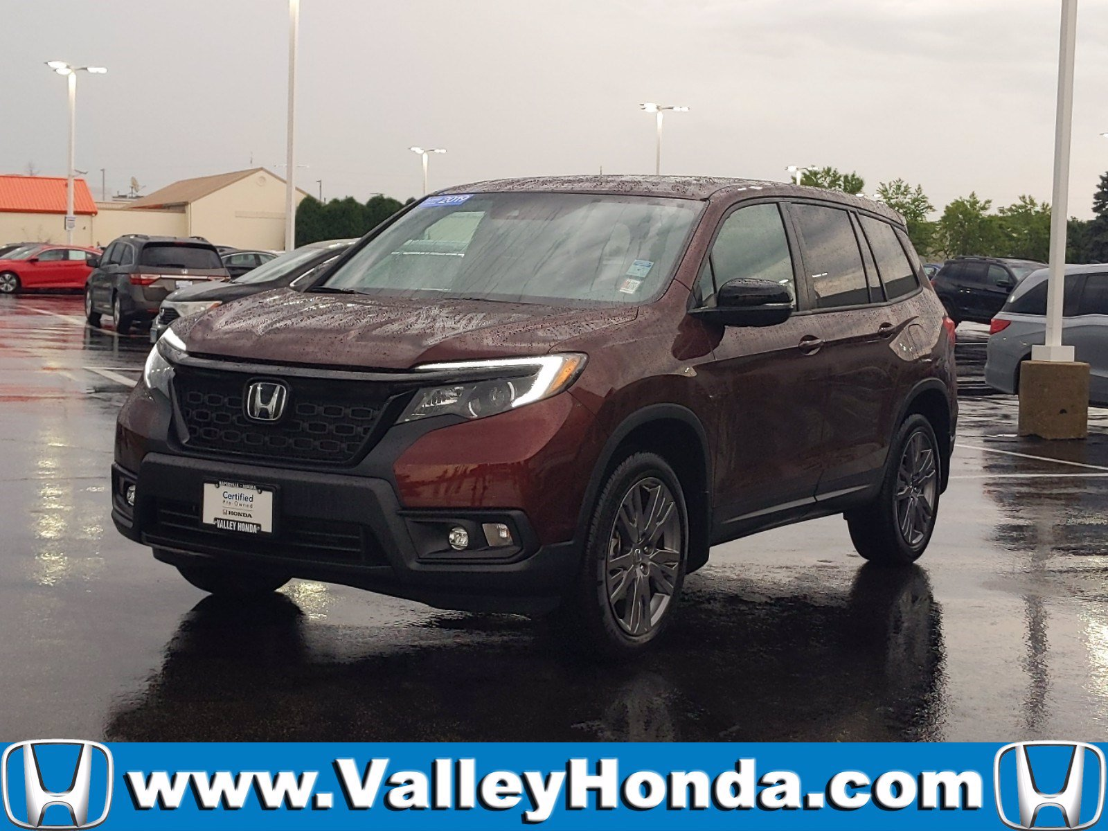 Certified Pre-Owned 2019 Honda Passport EX-L AWD
