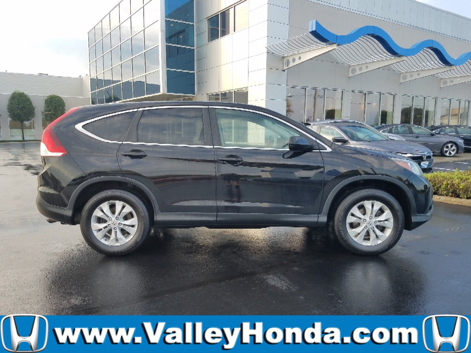 Certified Pre Owned 2014 Honda CR V EX AWD
