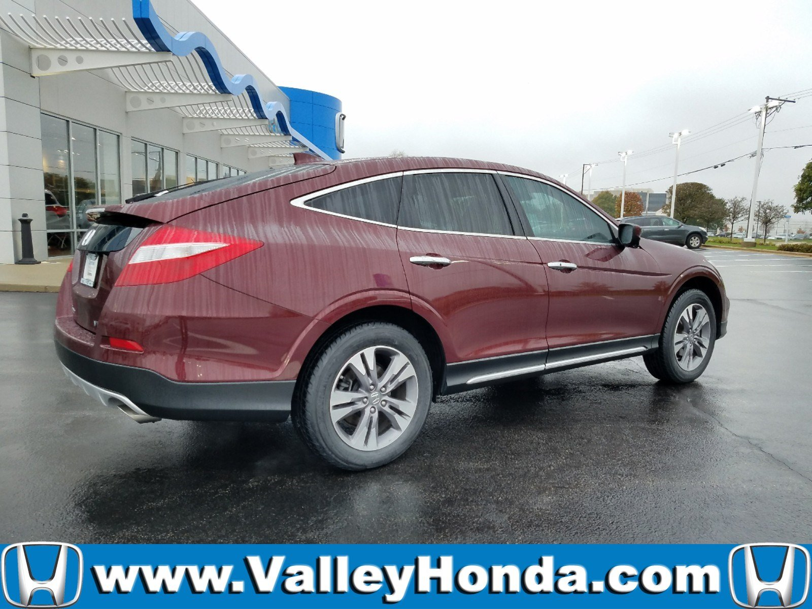 Certified pre owned 2014 honda crosstour ex l
