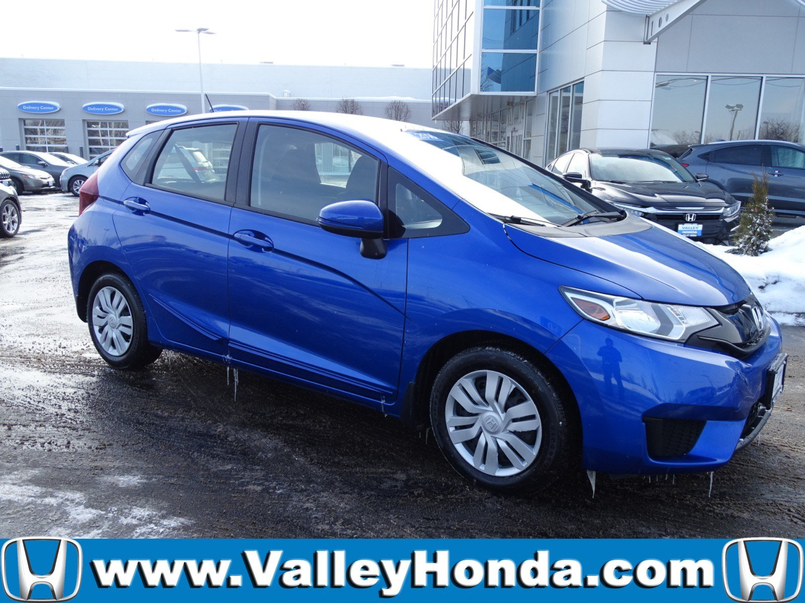 Certified Pre-Owned 2016 Honda Fit LX Hatchback