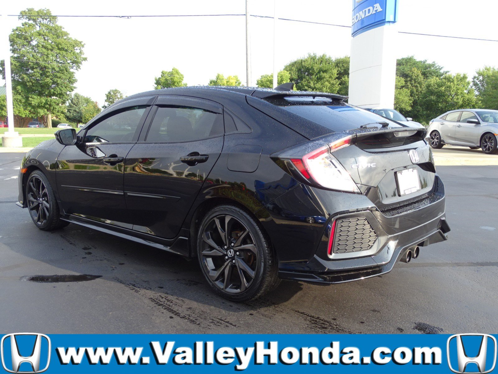 Certified Pre-Owned 2018 Honda Civic Sport Touring Hatchback